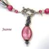 Magnifique collier de perles Jeanna