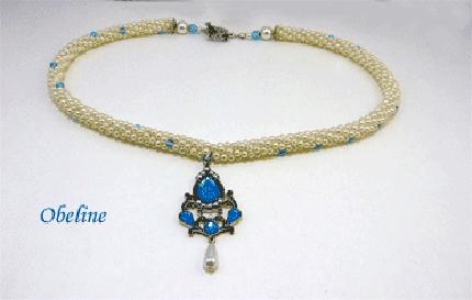 Collier de perles Obeline, un collier unique pour une femme unique
