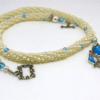 Superbe collier de perles Obeline, cadeau unique pour donner a maman a son épouse pour son anniversaire, pour Noel ou la fete des meres,
