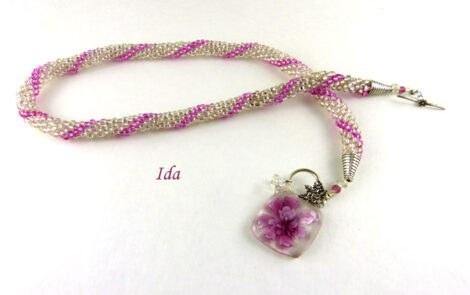 Collier de perles Ida