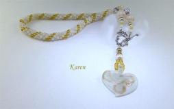 Collier de perles Karen