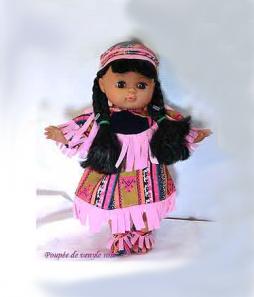 poupée de venyle rose