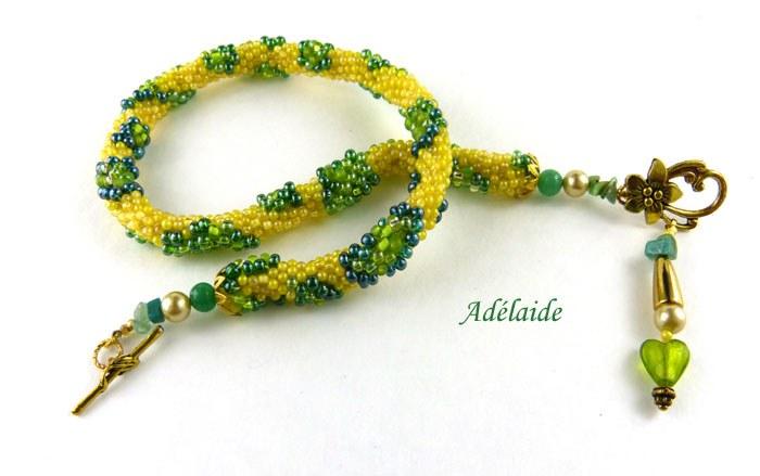 Collier de perles Adélaide www.metiersdart-cadeaux.com