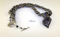 Collier de perles Alberte
