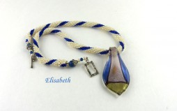 Collier de perles Elisabethe-www.metiersdart-cadeaux.com-www.e