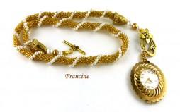 collier de perles Francine/www.metiersdart-cadeaux.com