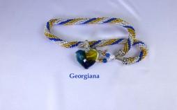 Collier de perles Georgiana/www.metiersdart-cadeaux.com