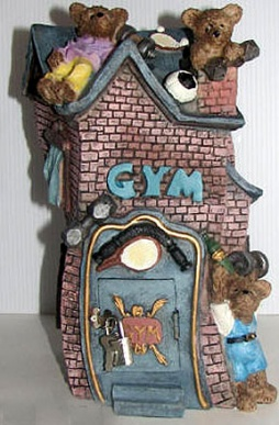 Tirelire gym