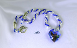 Collier de perles Odlie