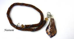 Collier de perles Nastasia/metiersdart-cadeaux.com