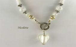 Collier de perles Nicolette/www.metiersdart-cadeaux.com