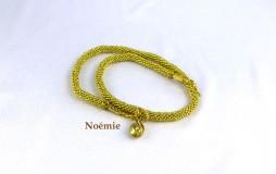 Collier de perles Noémie/www.metiersdart-cadeaux.com