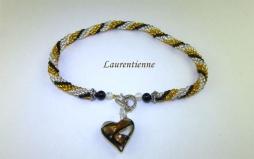 Collier de perles Laurentienne