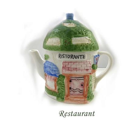 Théière de collection restaurant