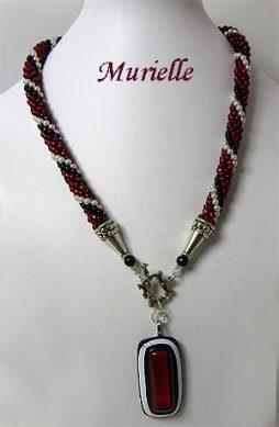 Collier de perles Murielle