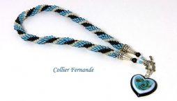 Magnifique collier de perles Fernande
